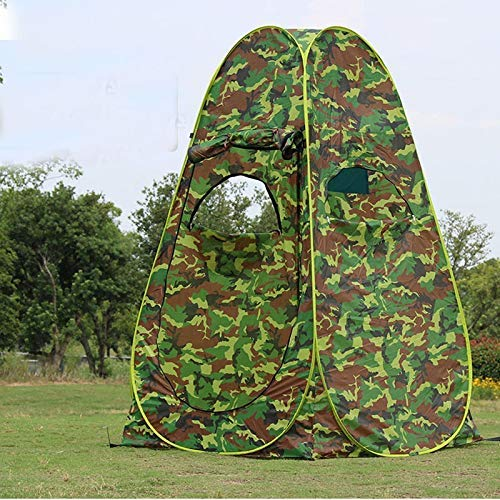NLRHH Pop-up Tent Windows Portable Privacy Shower Toilet Camping Camouflage/UV Function Outdoor Dressing Tent/photography peng