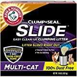 Superior Odor Control for a 7 Day Odor Free Home - Guaranteed 100% Dust Free, no more dust clouds when pouring or scooping. Moisture-activated micro-granules form a tight seal around cat waste, while plant derived particles help create rock-hard clum...