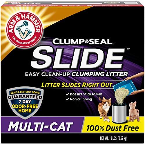 Arm & Hammer Slide Multi-Cat Easy Clean-Up Litter, 19 lb (033200973577)