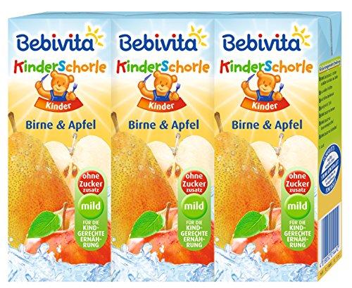 Bebivita Birne & Apfel, 5er Pack ( 5 x 3 x 200 ml )