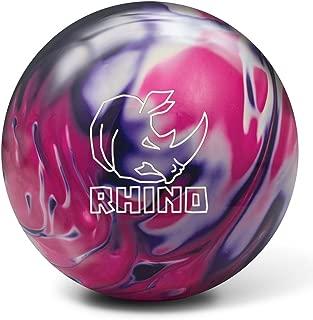 Brunswick Rhino Bowling Ball, Purple/Pink/White Pearl, 10 lb