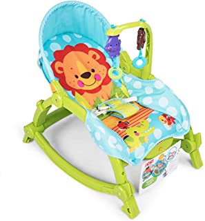 Baby Rocking Chair Swing Chair Bodyguard Chair Electric Vibration Multifunctional Rocking Chair Foldable Portable 0-3 Years Old