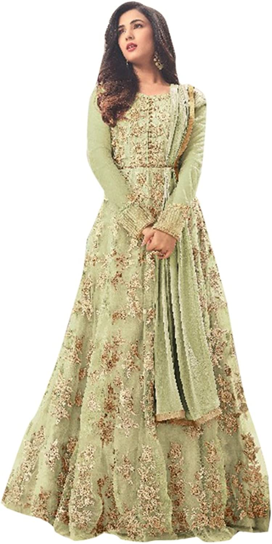 Bollywood Collection Pakistani Anarkali Salwar Suit Bridal Wedding Ceremony Punjabi Muslin Eid 835