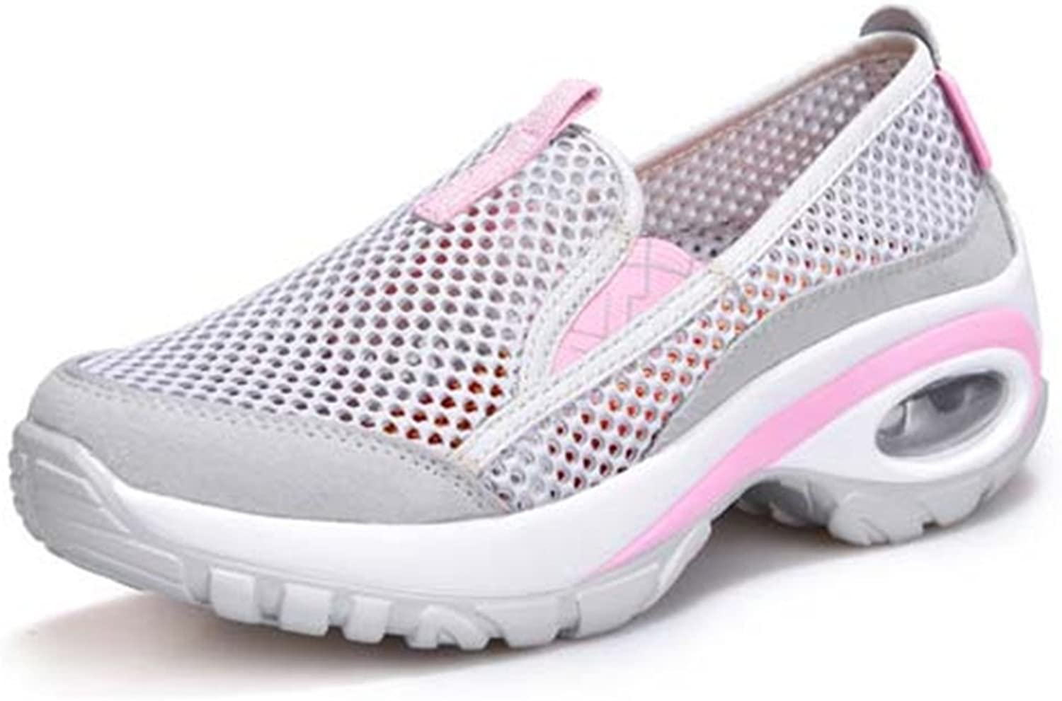 Walking shoes for Women's Slip on Sneakers Breathable shoes Lightweight Sneaker Go Walk Mesh Loafers