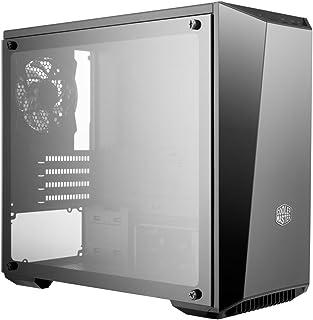 Cooler Master MasterBox Lite 3.1 TG Carcasa de Ordenador Mini-Tower Negro - Caja de Ordenador (Mini-Tower, PC, Vidrio, De plástico, Acero, Micro-ATX,Mini-ITX, Negro, Juego)