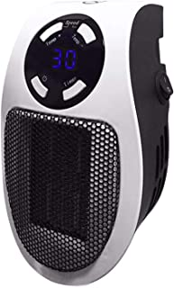 Brawdress 2021 Portable Mini 500w Space Heater, Home Plug in Small Heater with Remote Control Office Dorm Heating