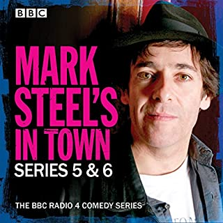 Mark Steel's in Town: Series 5 & 6 cover art