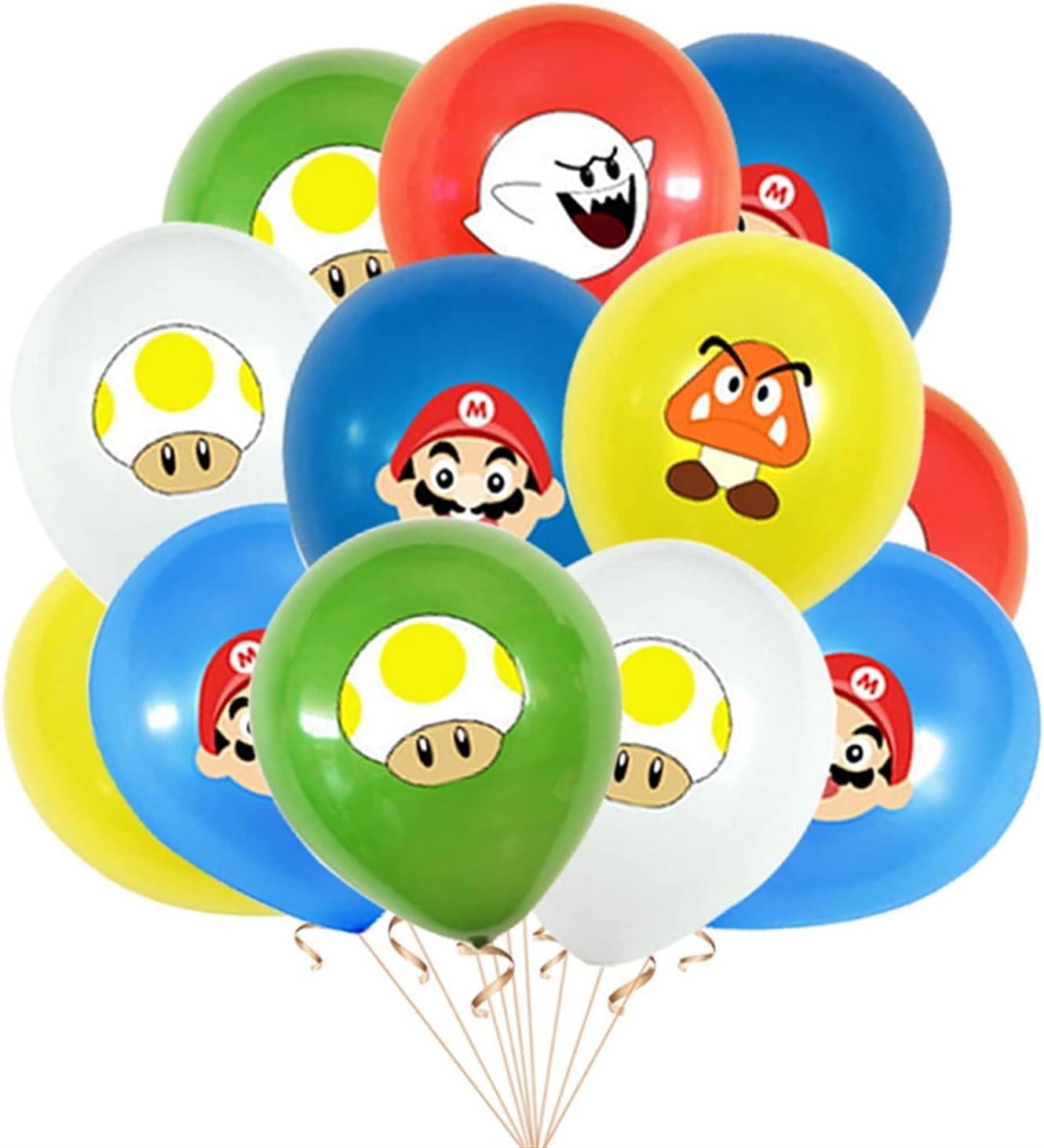 Cartoon Balloon Charlotte Mall 12pcs Bag 12inch Maker Air Latex Elegant Gl Game