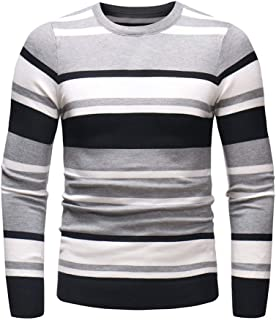 2019 New Shirts For Men ! Charberry Autumn Winter Sweater Pullover Slim Jumper Knitwear Long Sleeve Blouse