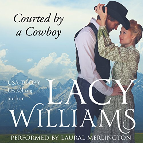 Courted by a Cowboy cover art