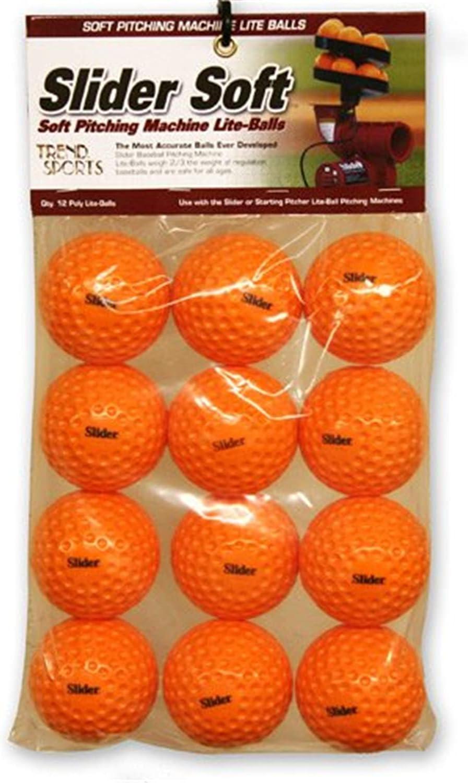 Heater Sports Slider Soft Foam Balls - 2 Pack - 12 Balls Total