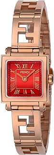 [フェンディ]FENDI 腕時計 QUADOROMINI レッド文字盤 F605527200-D レディース 【並行輸入品】