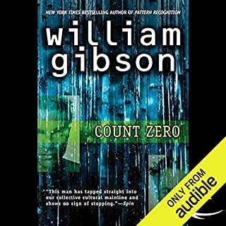 Count Zero audiobook cover art