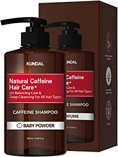Kundal Scalp Care+ Caffeine Shampoo 500ml (Baby Powder)