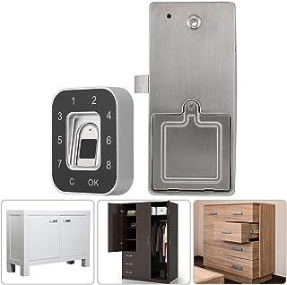 قفل الخزانة G12 قفل الخزانة بصمة قفل بكلمة مرور يستبعد قفل بصمة البطارية ، قفل البنك قفل الدرج لحذاء المنزل للتحكم في الوص...