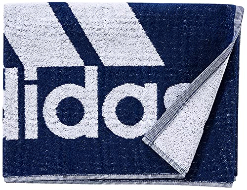 adidas GM5820 TOWEL S Beach towel unisex-adult team navy blue/white NS