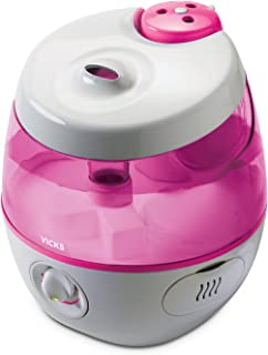 Vicks Sweet Dreams Cool Mist Humidifier, Pink