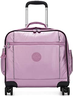 Kipling Storia Luggage Metallic Berry