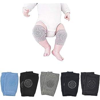 Baby Crawling Anti Slip Knee Pads Unisex Clothing Accessories Toddler Leg War...
