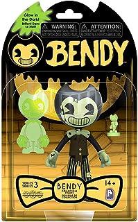 "Bendy And The Dark Revival Bendy & The Dark Revival 5"" GITD Action Figure-Bendy"
