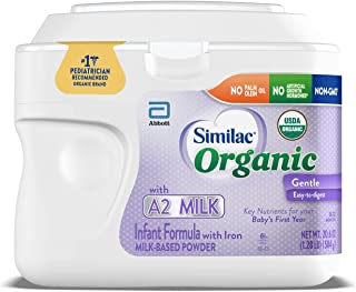 Sponsored Ad - Similac® Organic with A2 Milk* Infant Formula, Certified USDA Organic, Easy to Digest, No Artificial Growth...