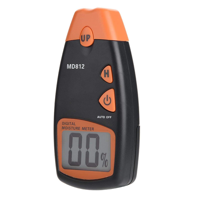 Medidor de humedad de madera, higrómetro de madera del probador de humedad digital del Pin 2/4 para los árboles