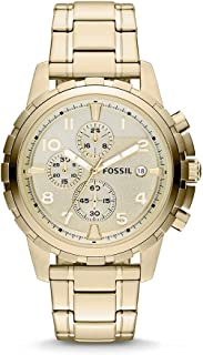 Fossil Men's Dean Stainless Steel Chronograph Dress...
