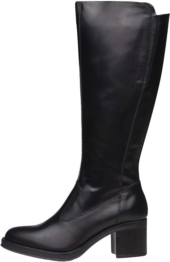 Nero giardini  stivali per donna in vera pelle A909610D 100