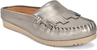 Five Tribe Women's Honest Leather Moccasin Mule