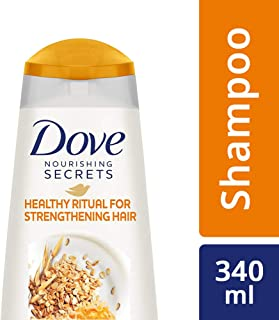 Dove Healthy Ritual for Strengthening Hair Shampoo, 340 ml (Oat Milk and Honey Extracts)