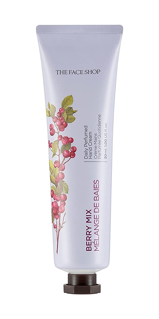 スタンド世界的に提供するTHE FACE SHOP Daily Perfume Hand Cream [04. Berry Mix] ザフェイスショップ デイリーパフュームハンドクリーム [04.ベリーミックス] [new] [並行輸入品]