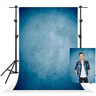Kate Blue Old Master Abstrakte Fotografie Hintergründe, Vintage Textur Hintergrund Requisiten, professionelle Head Shot Portrait Hintergründe, Booth, 5x7ft