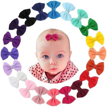 Aquamarine \u00b7 Skinny Felt Hair Bow  Baby Hair Bow  Toddler Hair Clip  Hair Accessory  Newborn Photo Prop  Gift for Baby Girl  Teal Bow