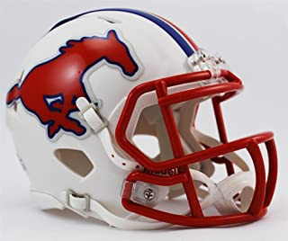 smu football helmet