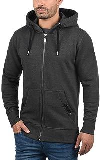 Yikey Men's Panel Hooded Sweatshirt, Zip Jacket Sweatshirt Outwear Tops Blouses