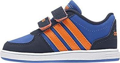 adidas VS Hoops, Chaussures de Basketball garçon - Bleu - Bleu, 43 ...