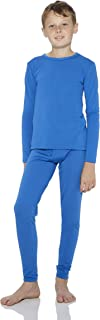 Thermal Underwear for Boys Fleece Lined Thermals Kids...