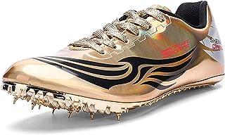HYISHION Scarpe di Atletica Leggera Uomini, Scarpe Sportive Outdoor Unisex-Adulto Formazione Dedicato Salto in Lungo Shoes...