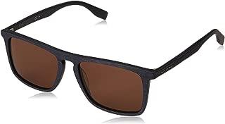 Sunglasses Hugo Boss Orange Bo 320 /S 02WF 00 Matte Bluwood/Brown