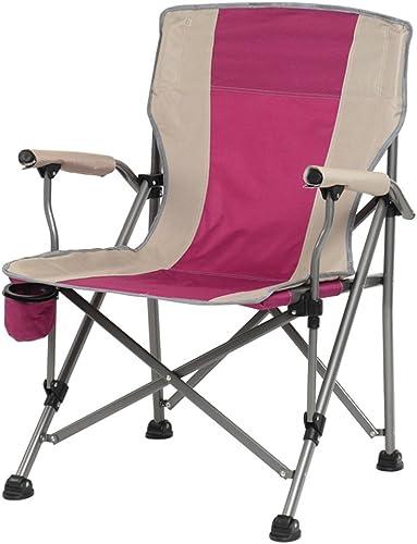 AJZXHESimple et créatif Chaise extérieure de Loisirs, Chaise Pliante de Bureau, Chaise de Camping, Chaise portative de Plage, Tabouret de Chaise de pêche,