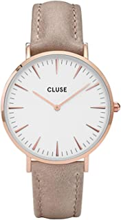 Cluse Women's Analogue Quartz Watch with Leather Strap CL18031