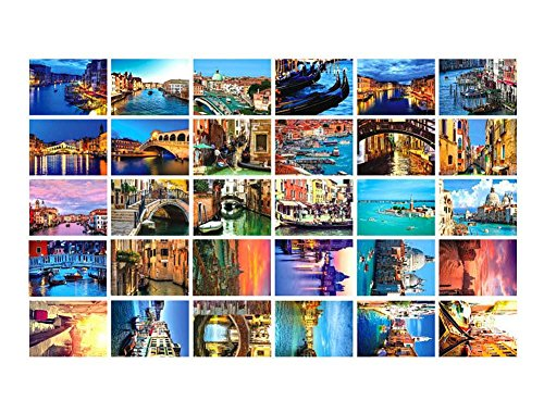 Schöne Welt Reise Landschaft 30 PCS Künstlerische Retro Postkarten-Venedig