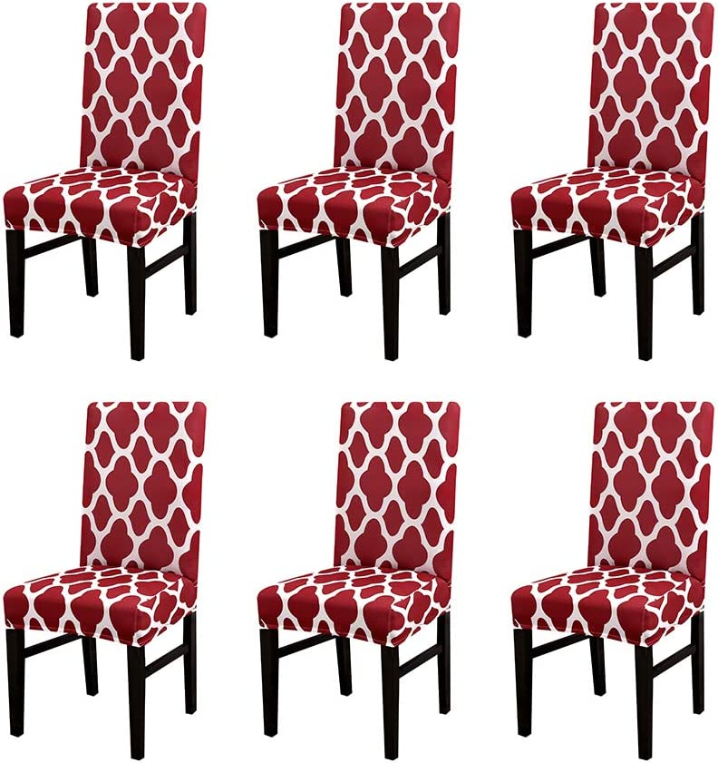 Modern Limited time sale Elegant Cheap bargain Polyester Stretch Dining Removable Chair Washable