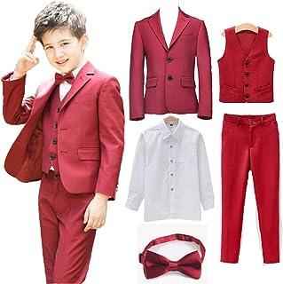 b134656fae03 Amazon.es: Rojo - Trajes y Blazers / Niño: Ropa