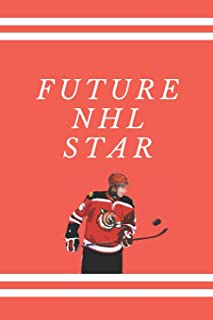 Future NHL Star: School Notebook | Composition Notebook | Journal For Hockey Players Ice Hockey Lovers | 6