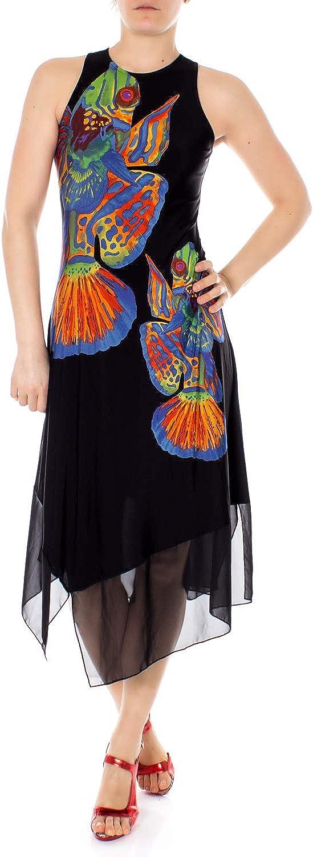 Desigual Woman Long Dress Vest Cristin 19swvk05