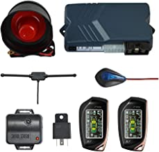 $79 » BANVIE 2 Way Car Security Alarm System with Remote Start Starter, Car Keyless Entry Central Door Locking, Trunk Release
