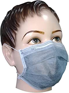 Filtra Disposable Children's/Ladies Air Pollution Face Mask with Activated Carbon 50 Pcs (TT-4BEM-AC-145)