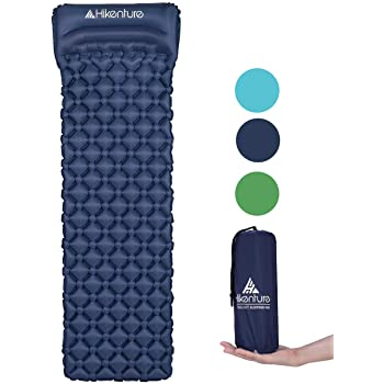 Ultraleicht Isomatte Qeedo Light Pad Pumpsack kleines Packmaß aufblasbar camping