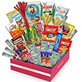 Holiday Snack Box Variety Pack, (40 Count) Christmas Candy Gift Basket - College Student Care...